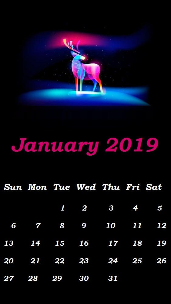 January 2019 Smart Phones Wallpaper