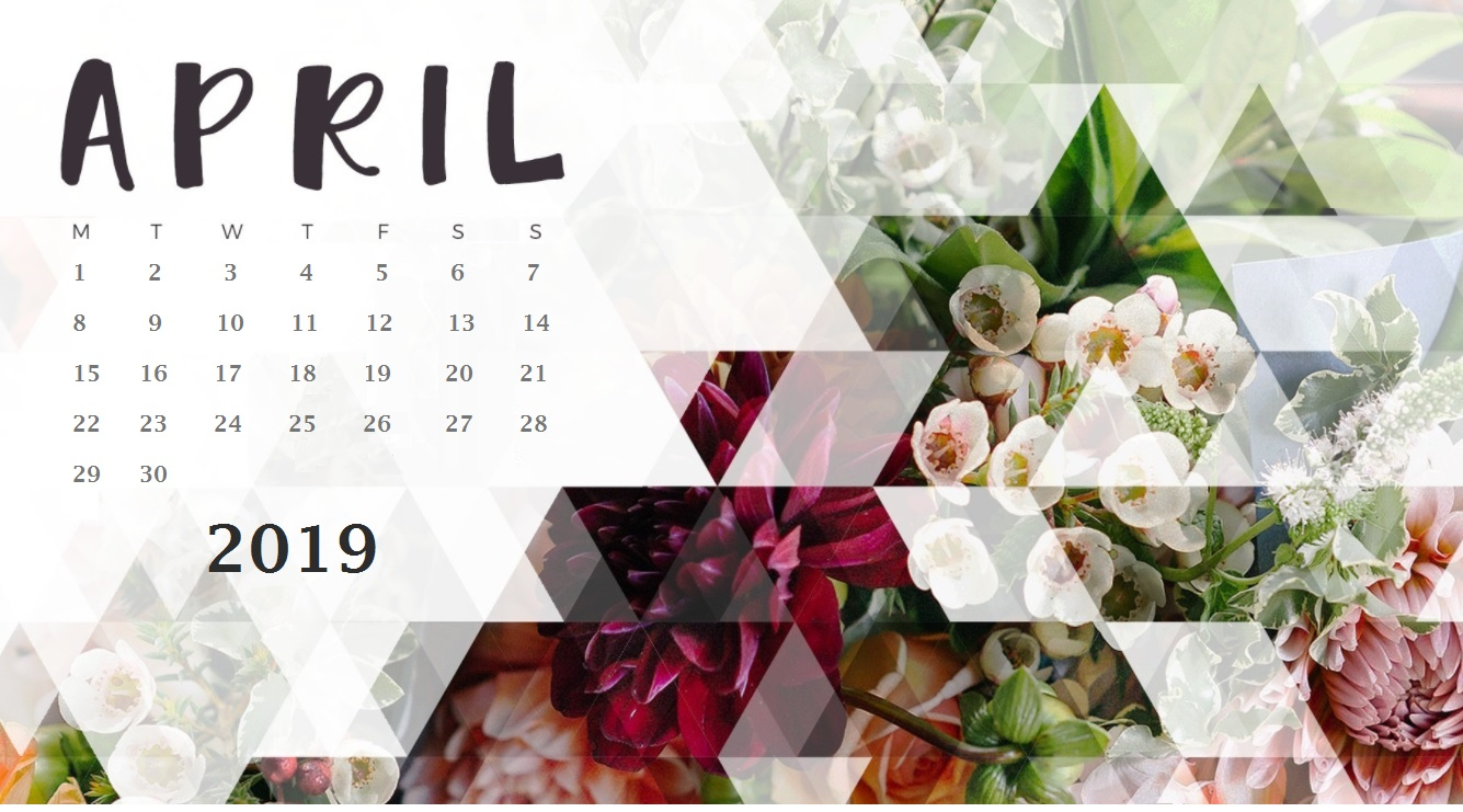 April 2019 Wallpaper With Calendar