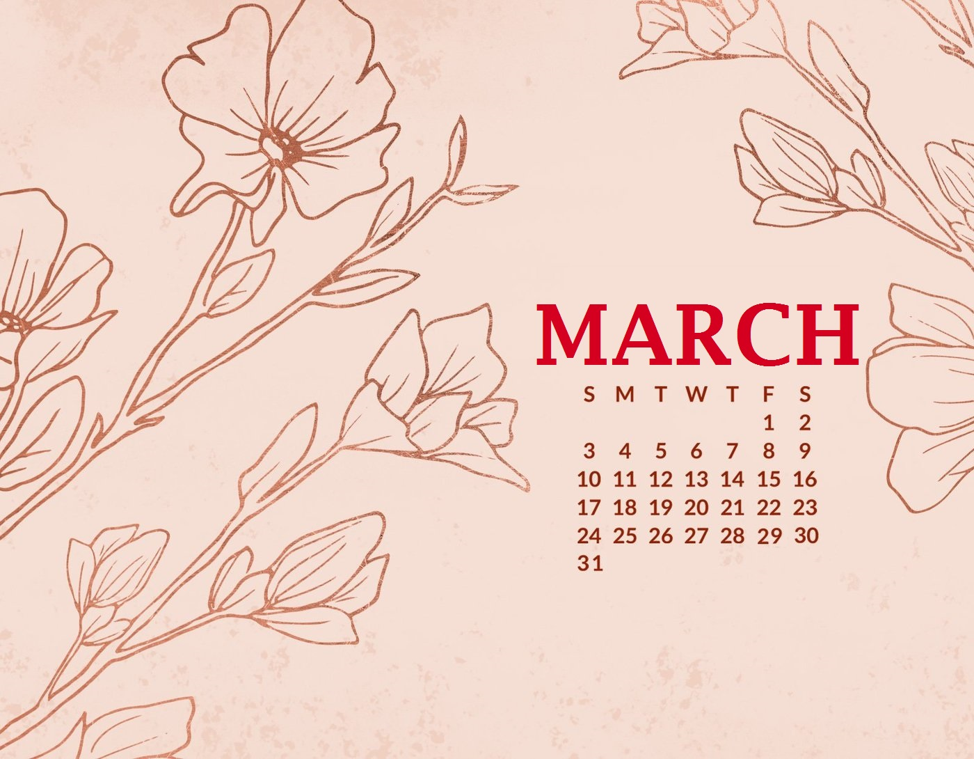 Download March 2019 HD Wallpaper