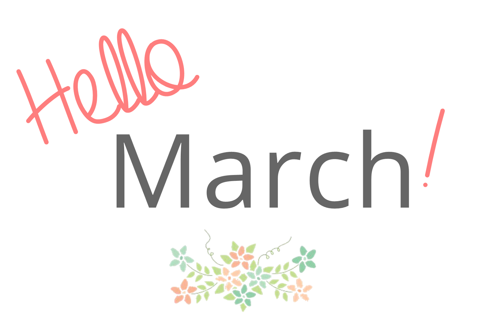 Hello March Images Quotes