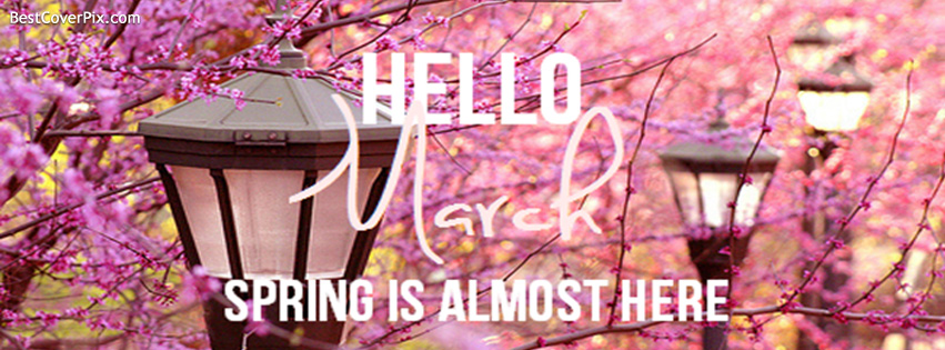 Hello March Images for Facebook