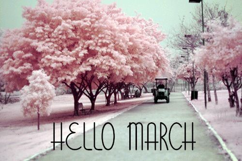 Hello March Images for Instagram