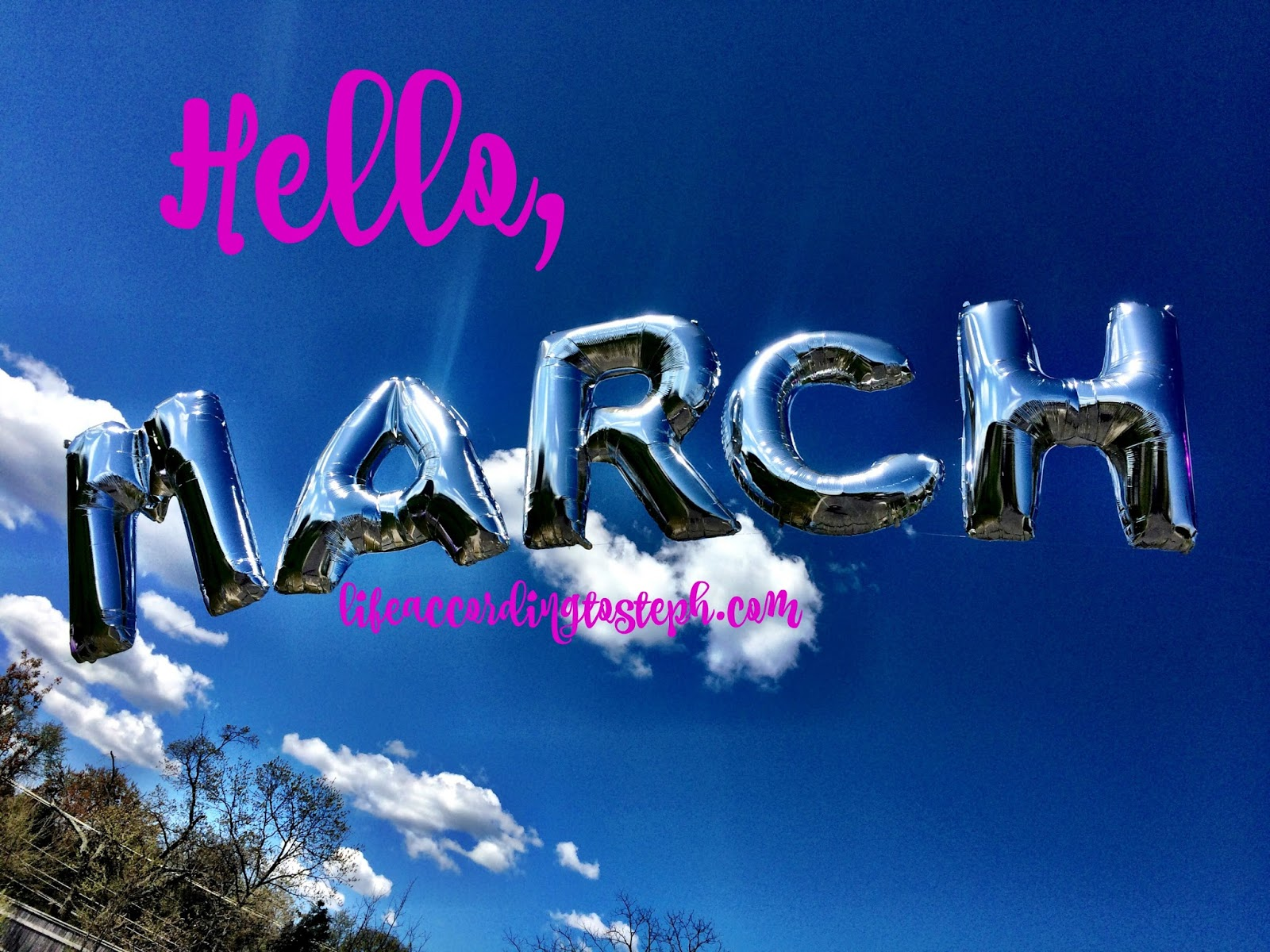 Hello March Month Images