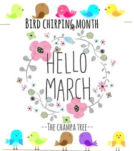 Hello March Month Quotes