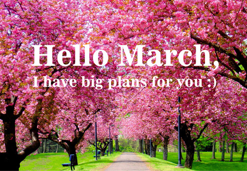 Hello March Wishes