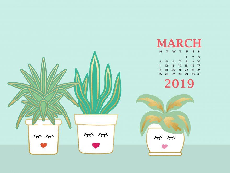 March 2019 Desktop Background Screensaver
