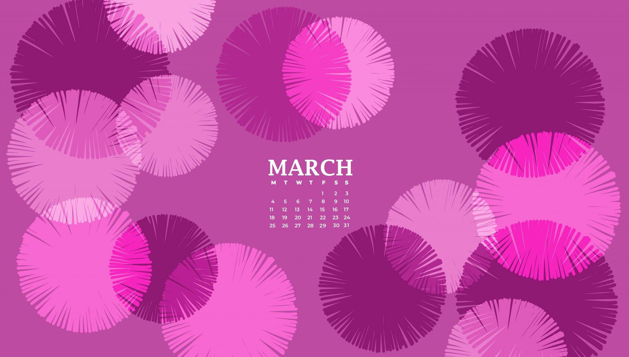 March 2019 Desktop Background Wallpaper