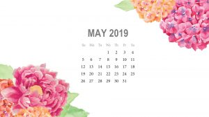 May 2019 Desktop Background Calendar