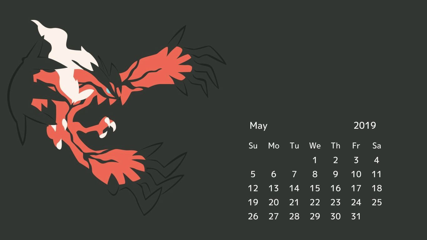 May 2019 Desktop Screensaver Background Wallpaper