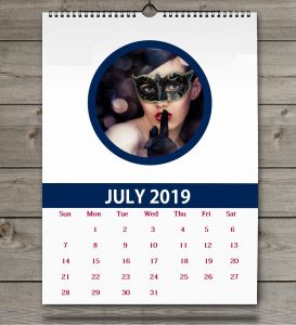 Download July 2019 Wall Calendar