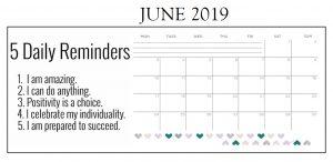 Inspiring June 2019 Calendar For Desk