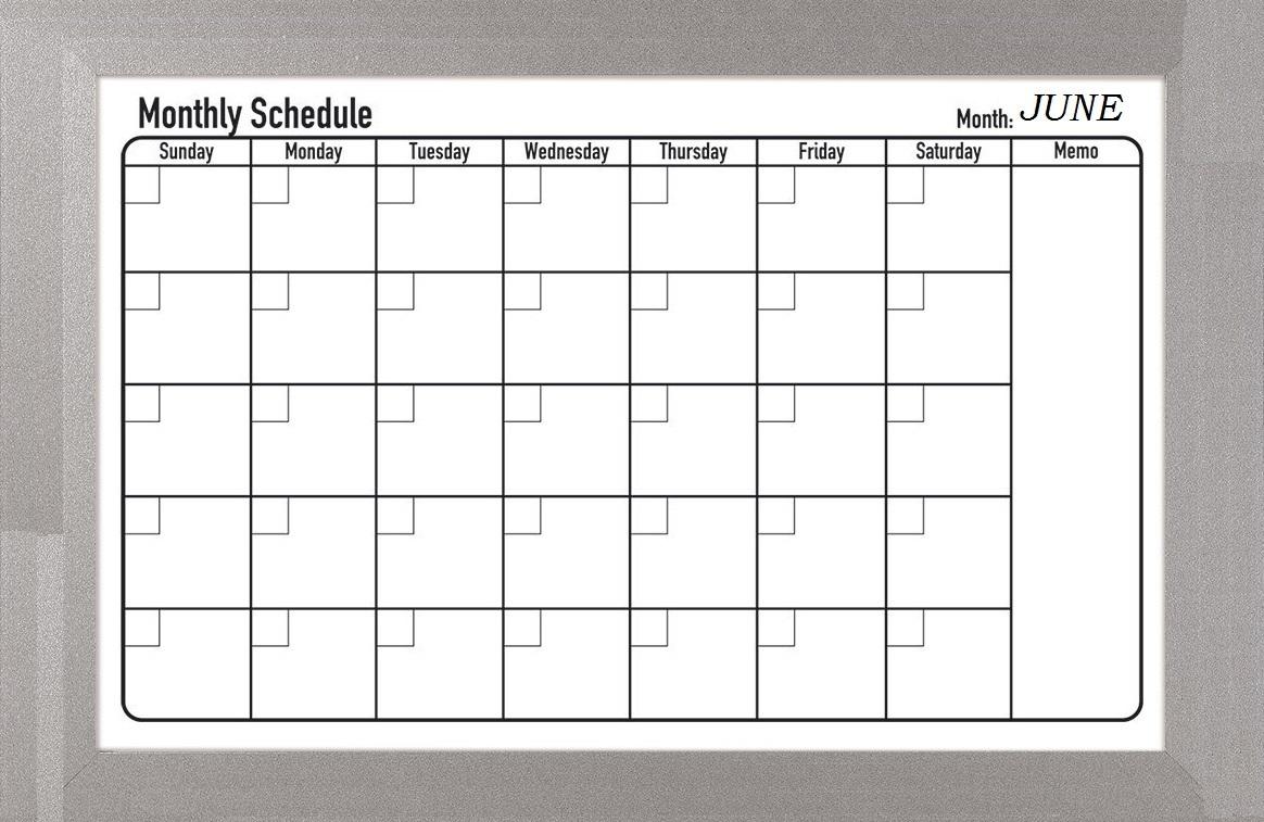 June 2019 Schedule Planner
