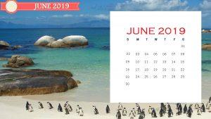 June 2019 Wall Calendar To Print