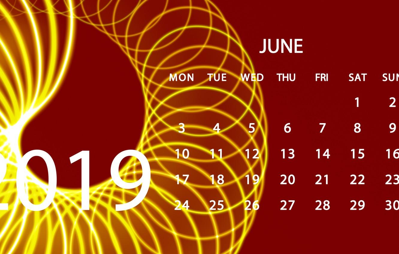 June Calendar Wallpaper 2019