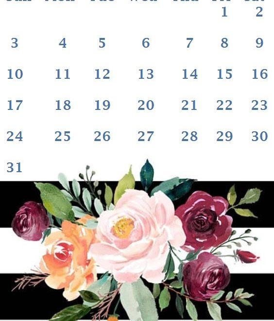 iPhone May 2020 Calendar Wallpaper