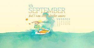 Download September 2019 Calendar Wallpaper