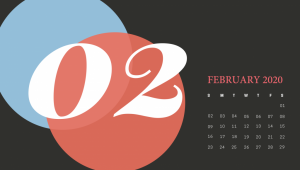 Cute February 2020 Calendar Printable
