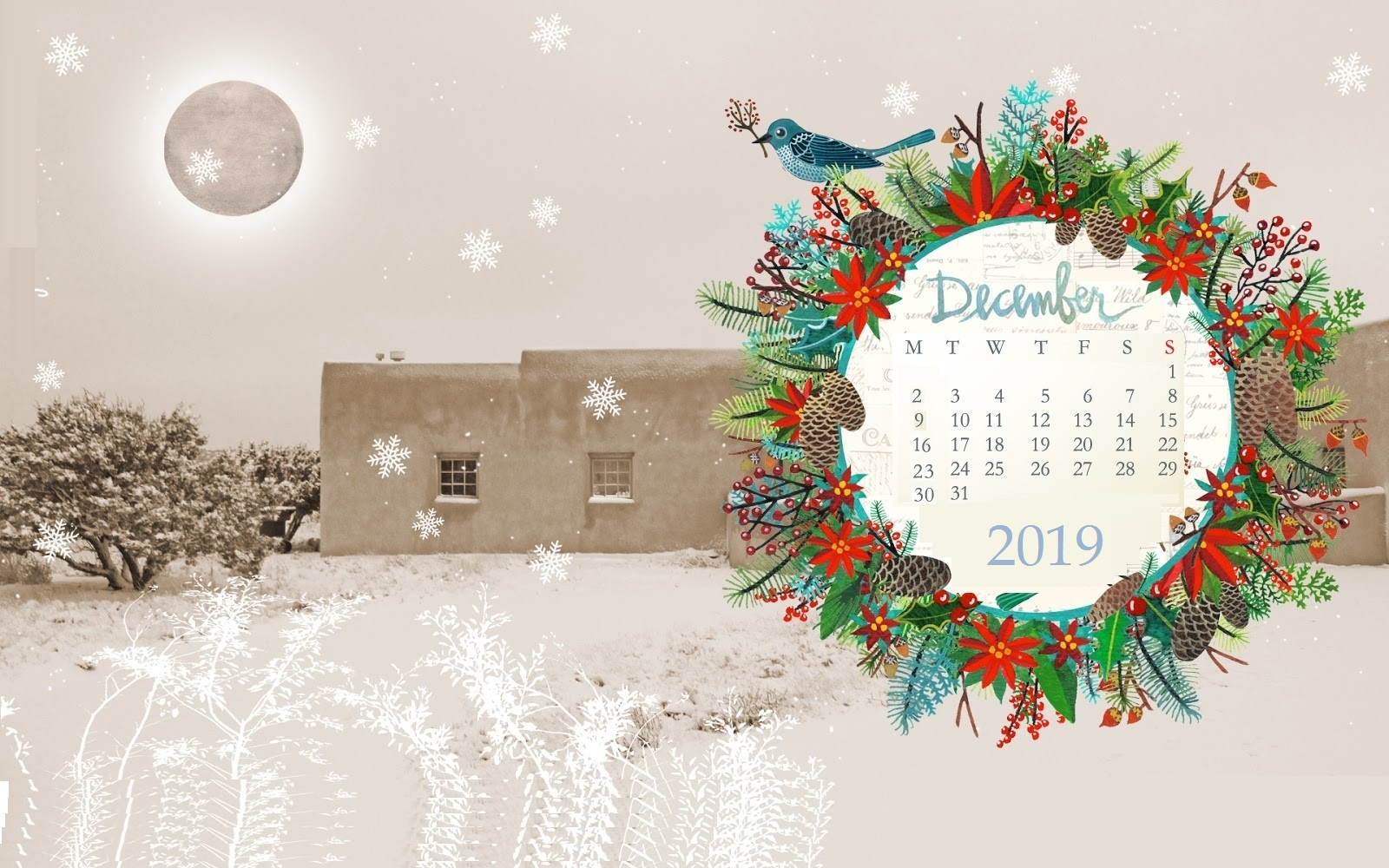 December 2019 Wallpaper