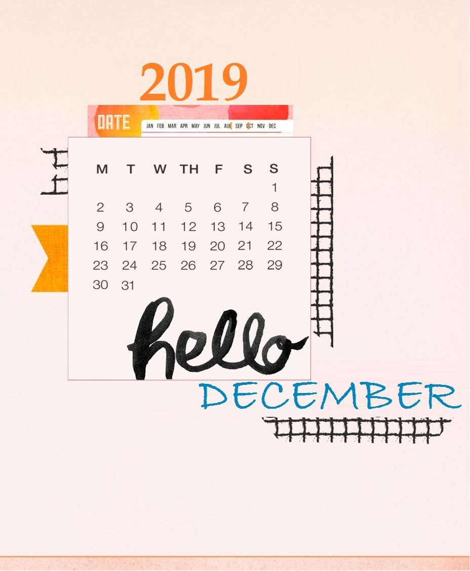 December 2019 iPhone Screensaver