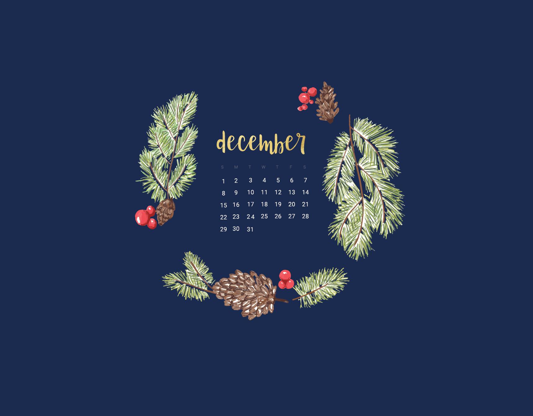Floral December 2019 Wallpaper