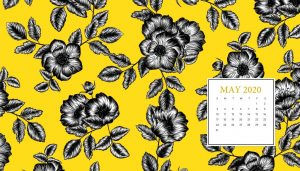 May 2020 HD Calendar Wallpaper