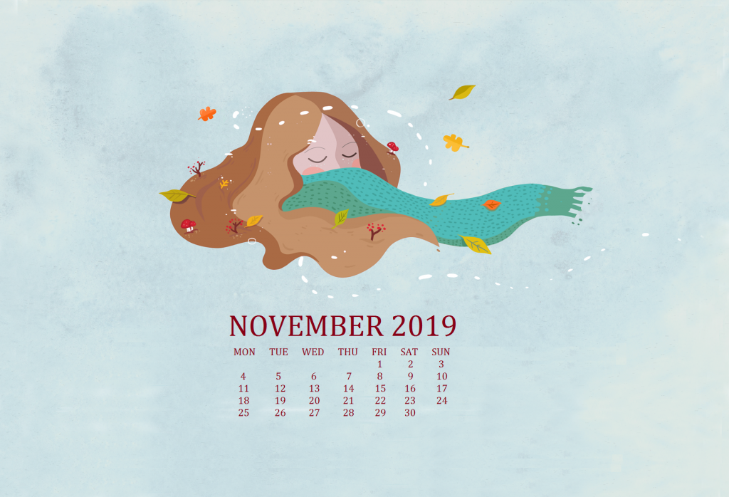 November 2019 Wallpaper Background