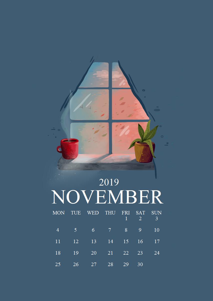 November 2019 iPhone Screensaver