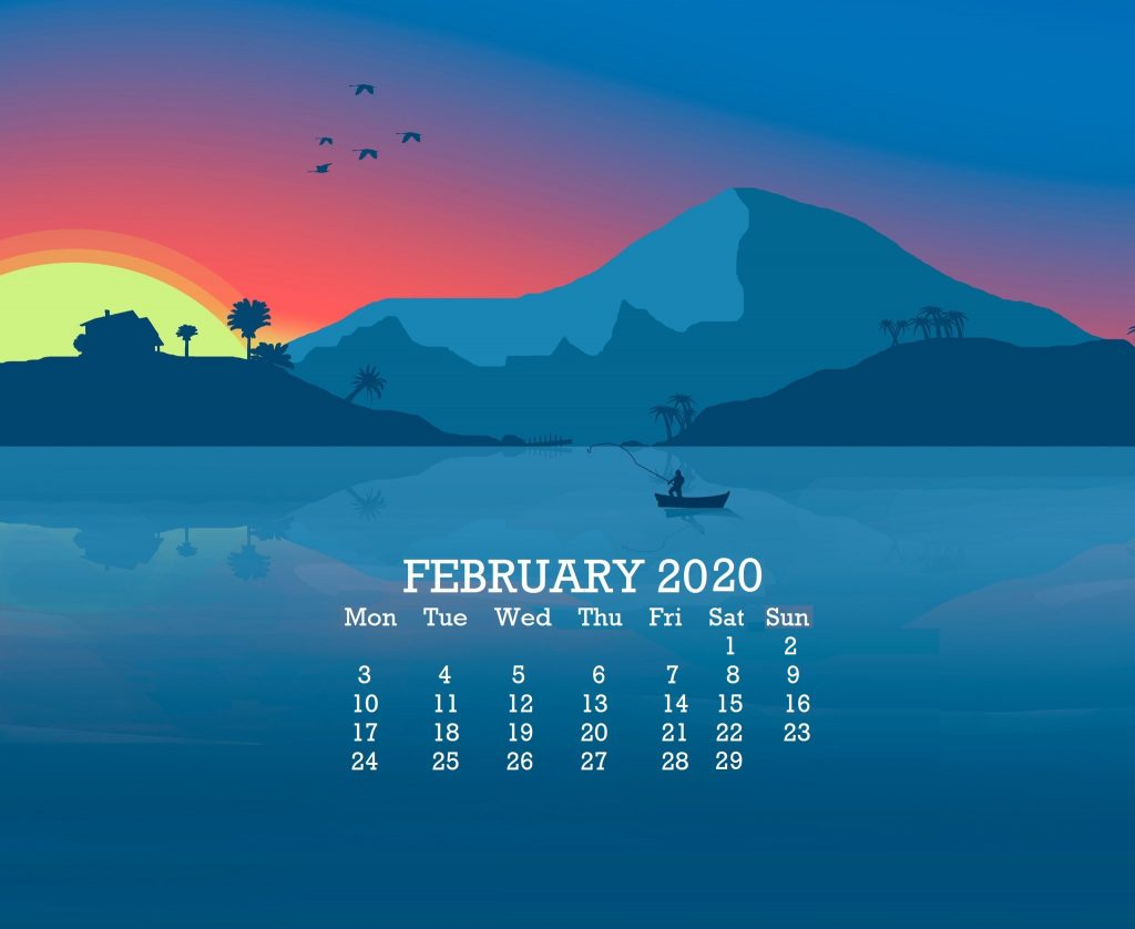 Beautiful February 2020 Desktop Wallpaper