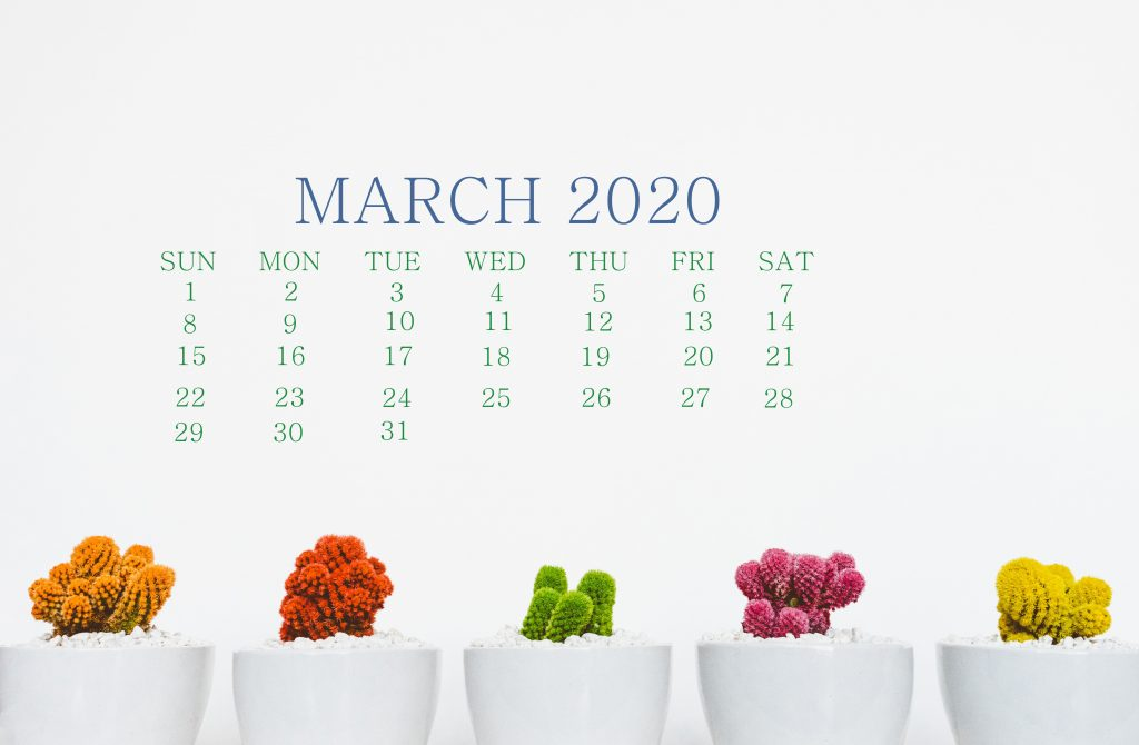 Beautiful March 2020 Screen Wallpaper