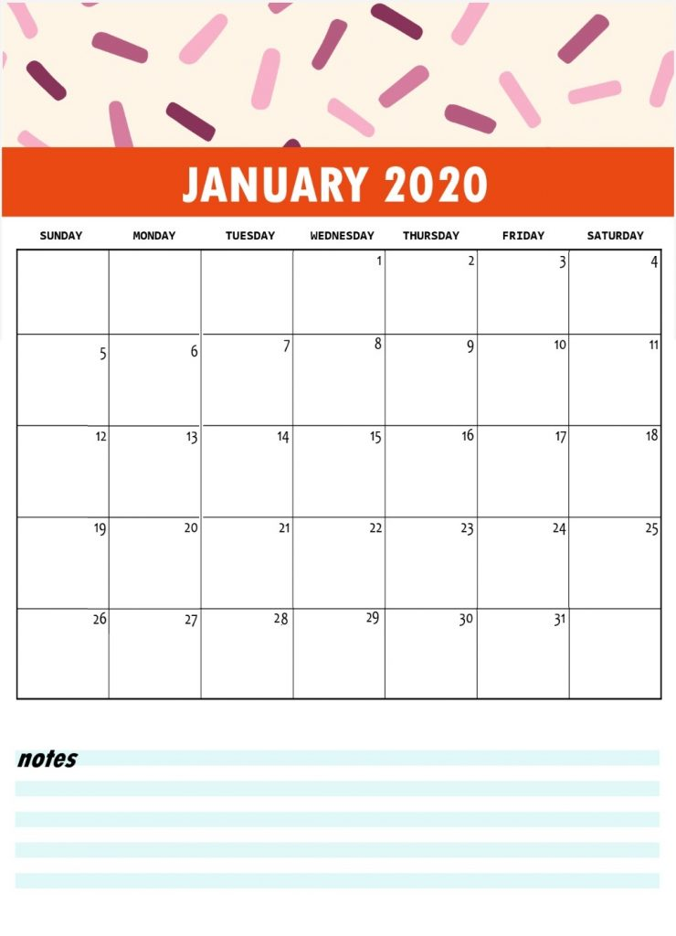 Best January 2020 Monthly Planner