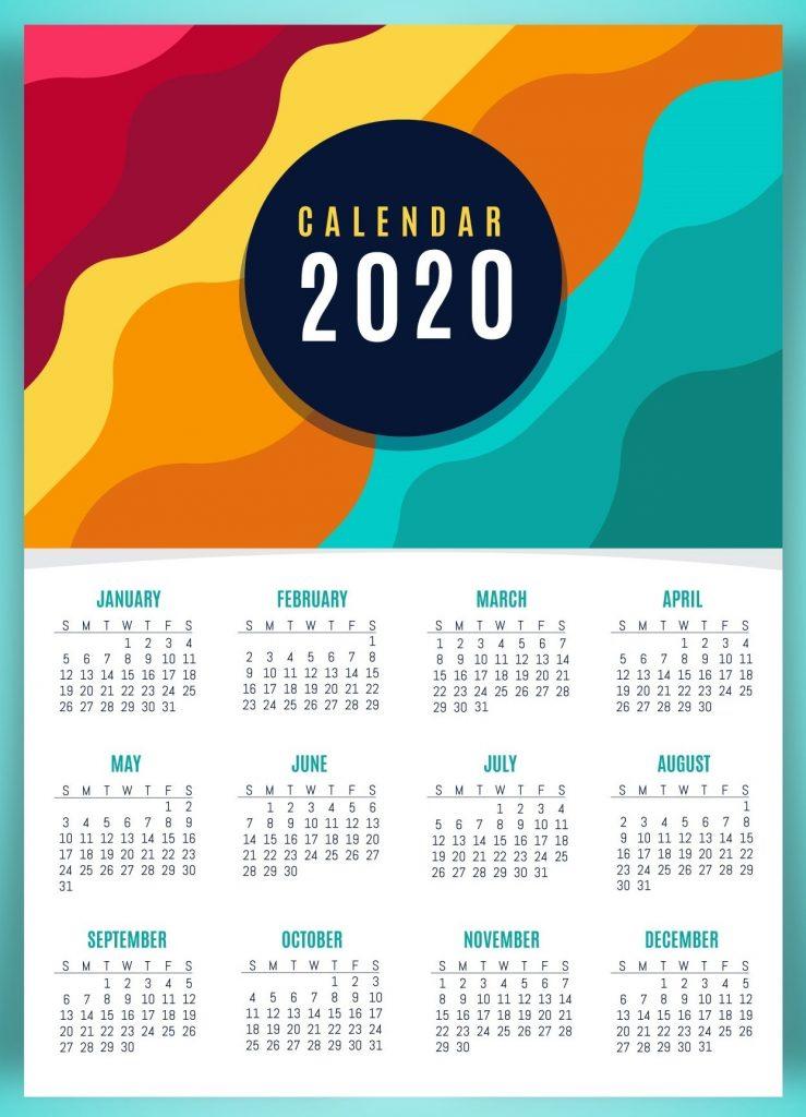Cute 2020 Calendar