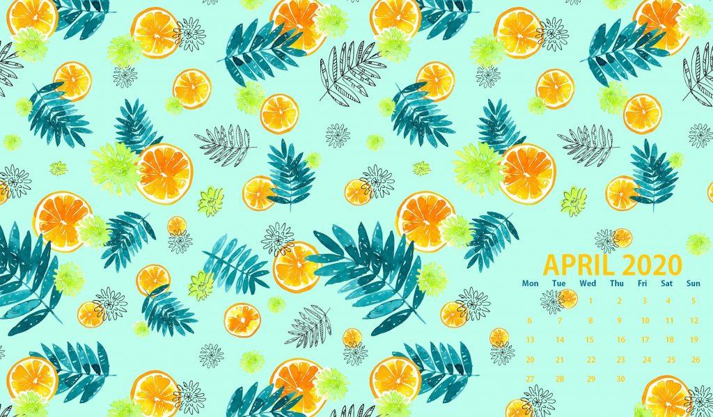 Cute April 2020 Background Wallpaper