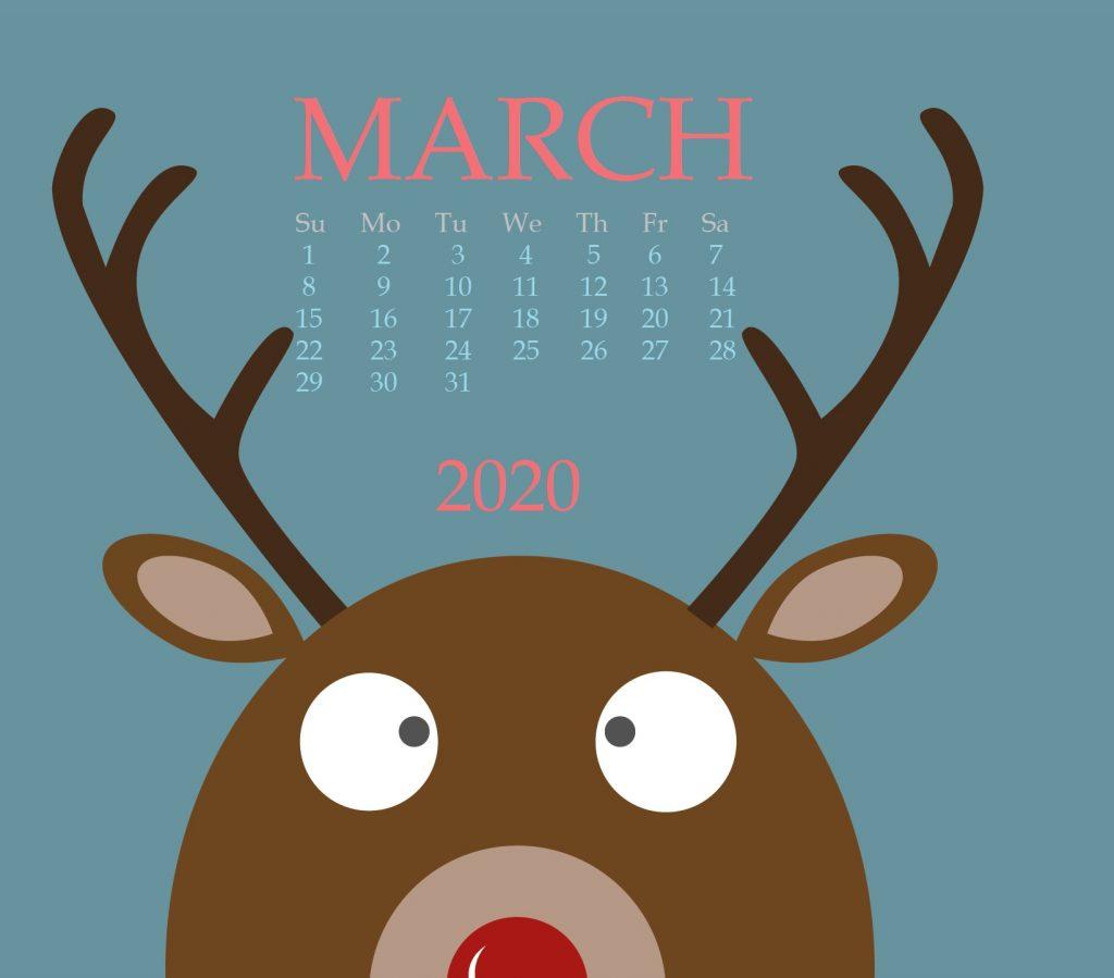 Cute March 2020 Mac Tablet Wallpaper