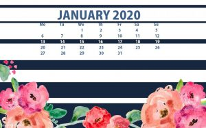 Decorative January 2020 HD Wallpaper