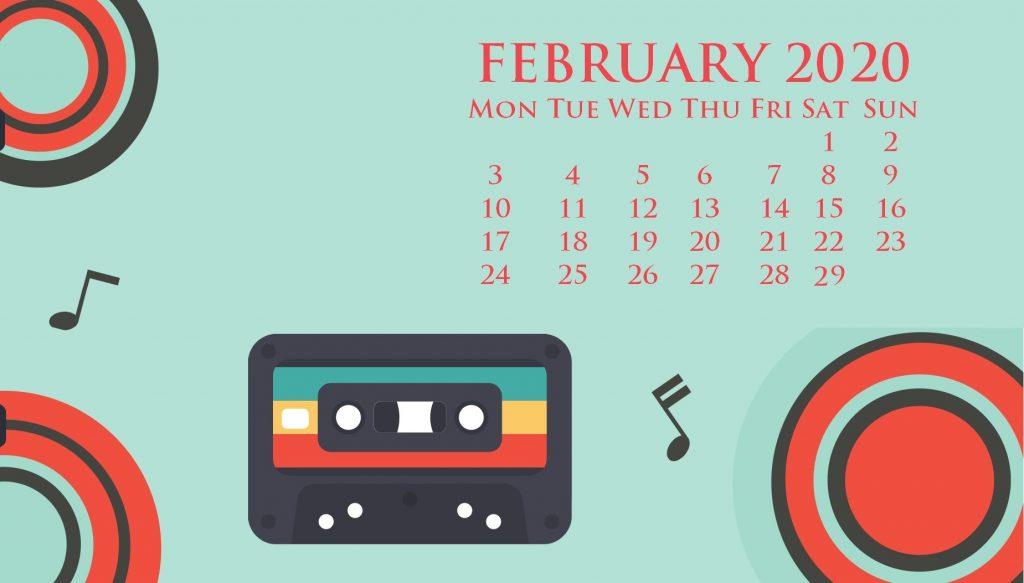 February 2020 Desktop Wallpaper