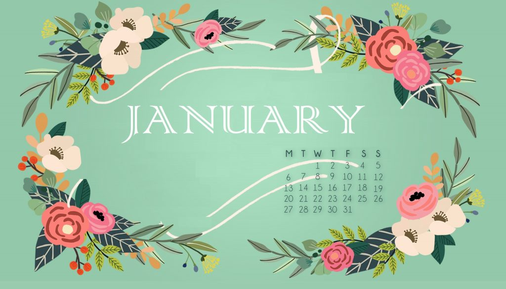Free January 2020 Wallpaper