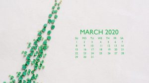 March 2020 Background Screensaver