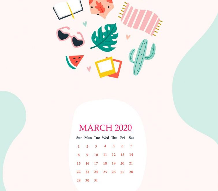 March 2020 iPhone Screensaver