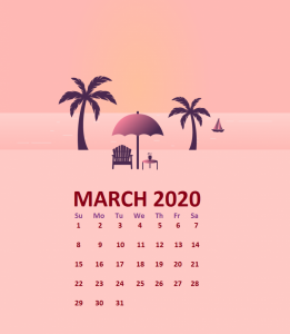 iPhone March 2020 Background Wallpaper