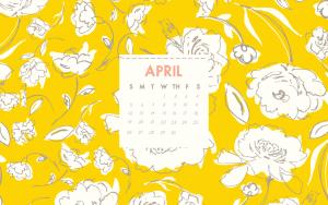 April 2020 HD Cute Calendar