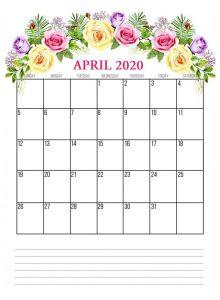 Best April 2020 Floral Calendar