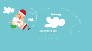 Cute December 2019 Desktop Background