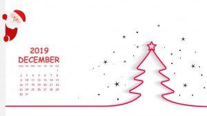 December 2019 Wallpaper Calendar