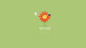 May 2020 Desktop Background