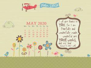 May 2020 Desktop Wallpaper