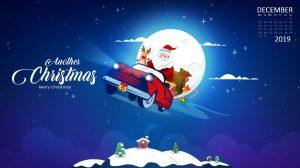 Merry Christmas December 2019 Wallpaper