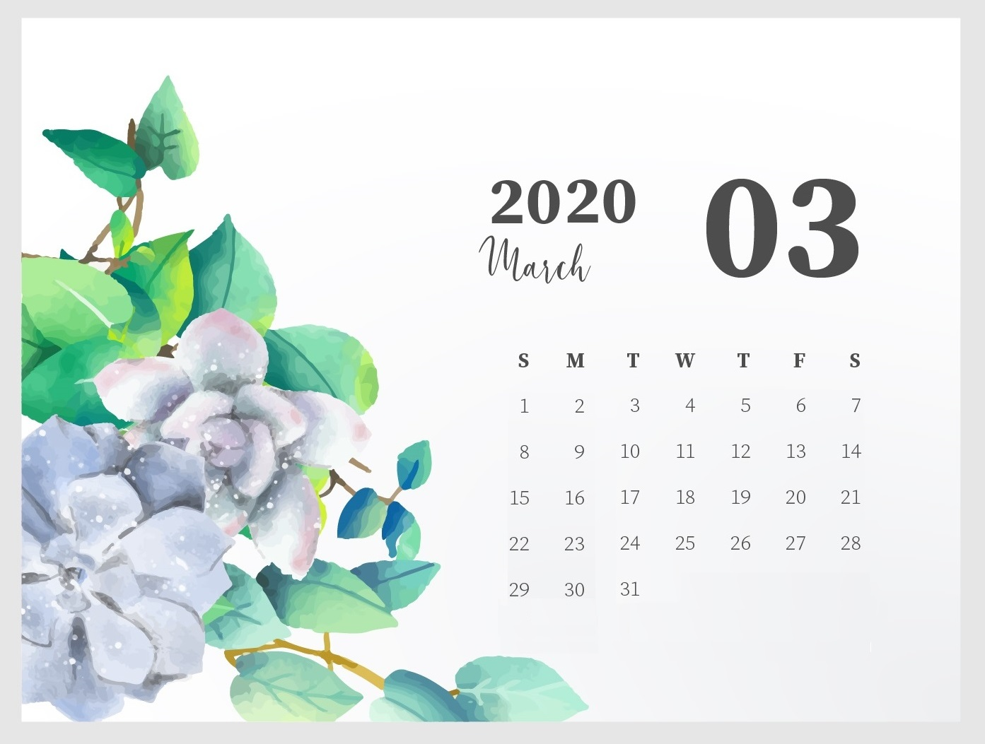 Best March 2020 Calendar Designs