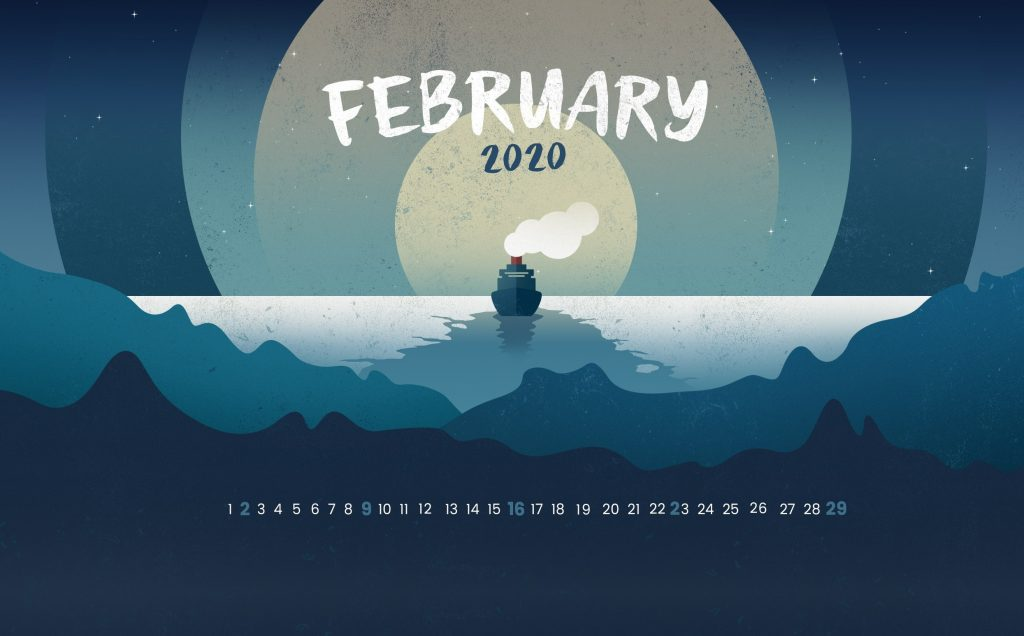 February 2020 HD Wallpaper