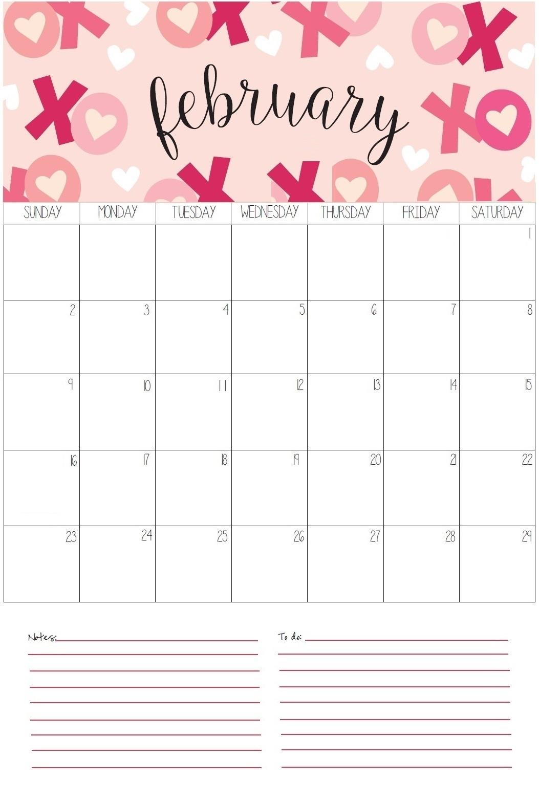 February 2020 Home Wall Calendar
