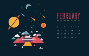 February 2020 Wallpaper With Calendar
